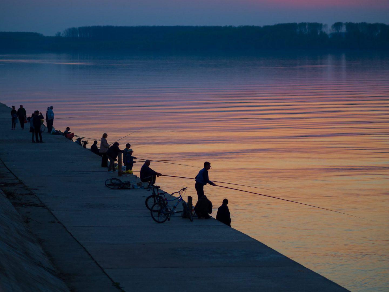 Рибари на река Дунав, гр.Лом