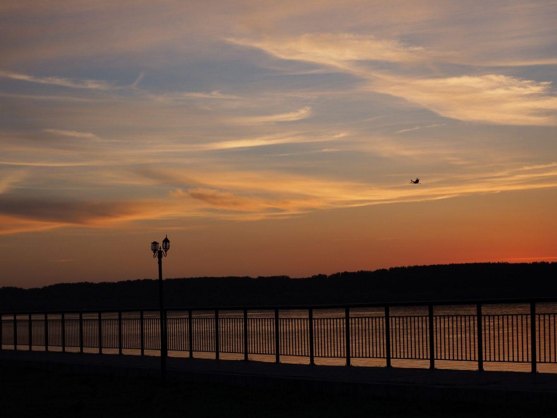 гр.Лом, крайбрежна алея, река Дунав