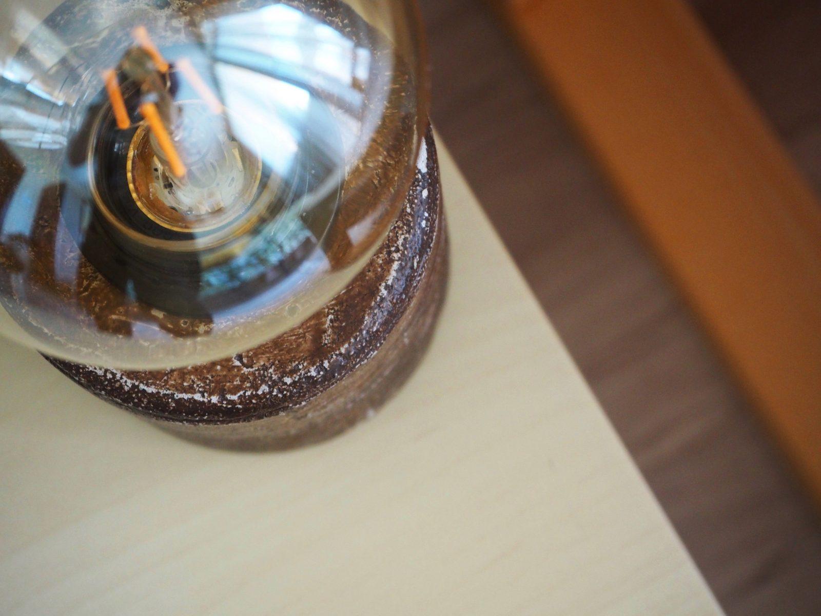 Лампа, ръчна изработка