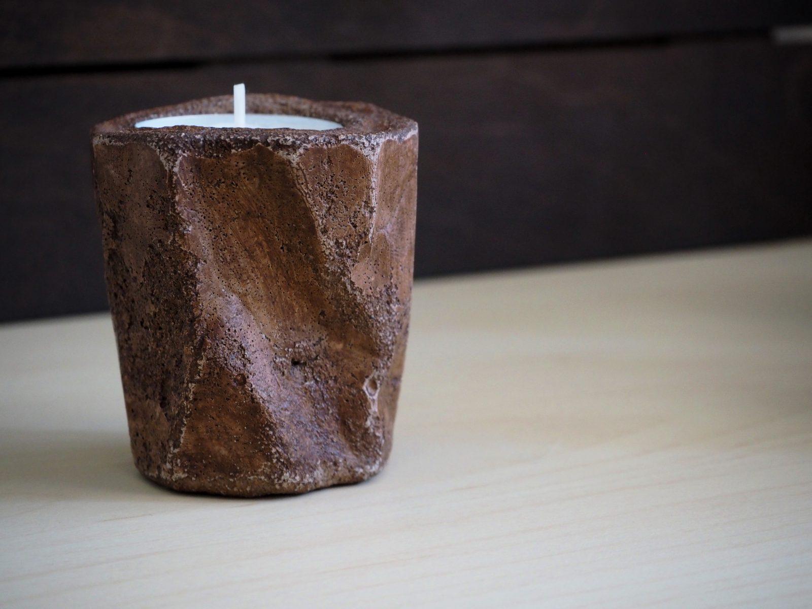 Свещник, ръчна изработка