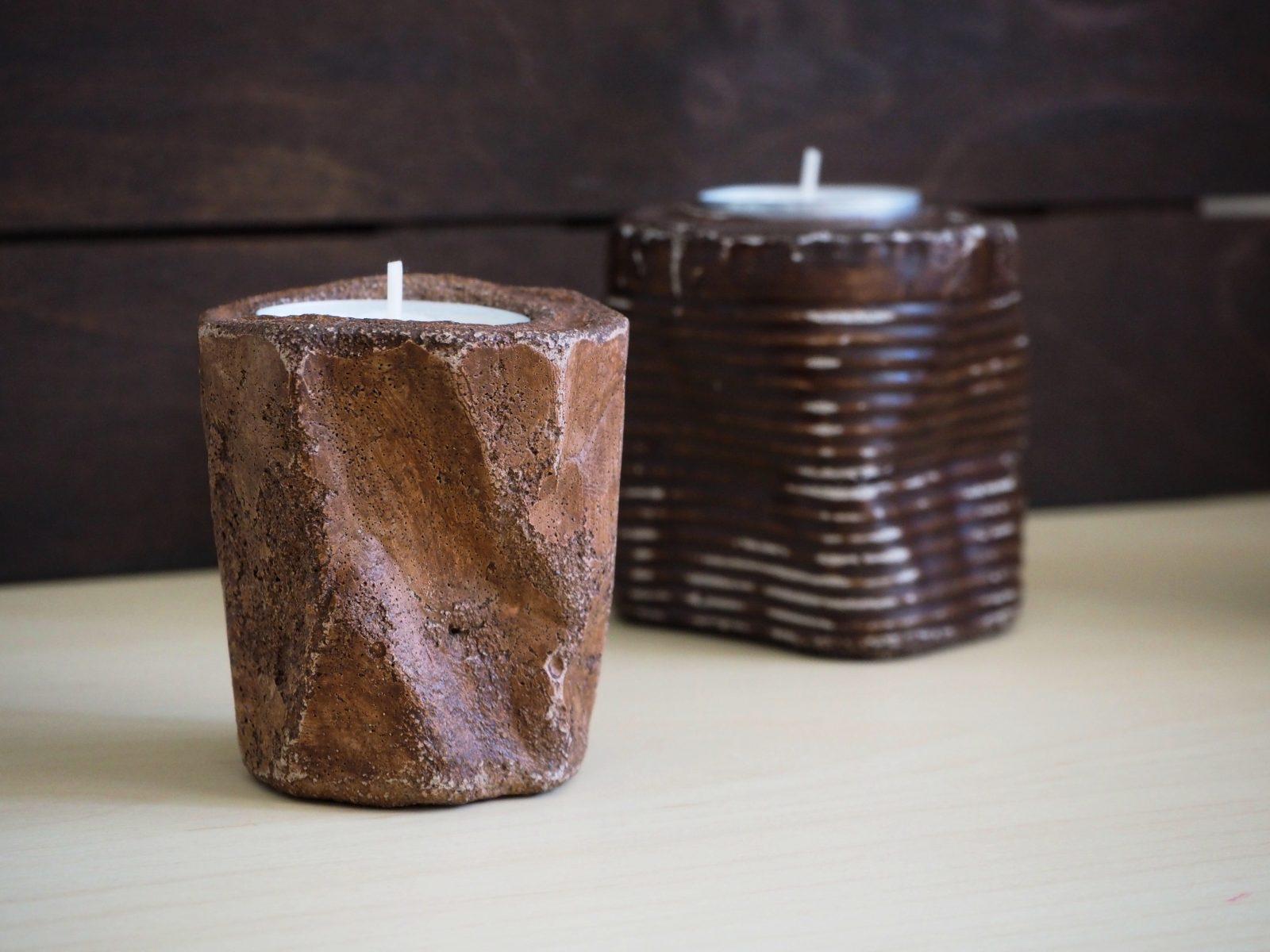 Свещници, ръчна изработка
