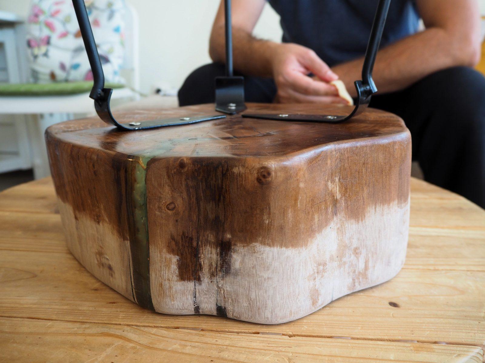 Ръчна изработка на маса от дърво