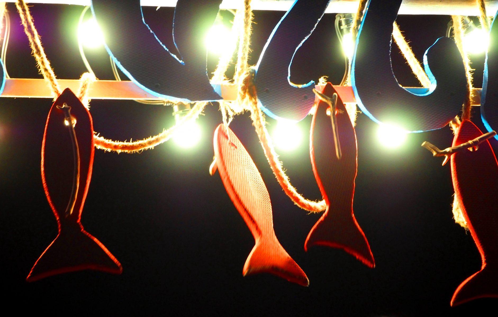 Декорация от риби