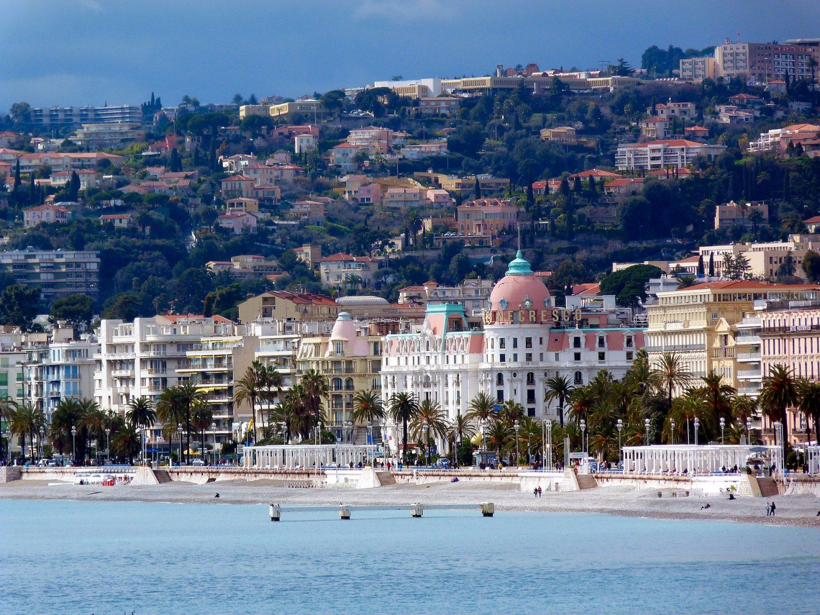 Лазурният бряг, хотел Негреско, Ница