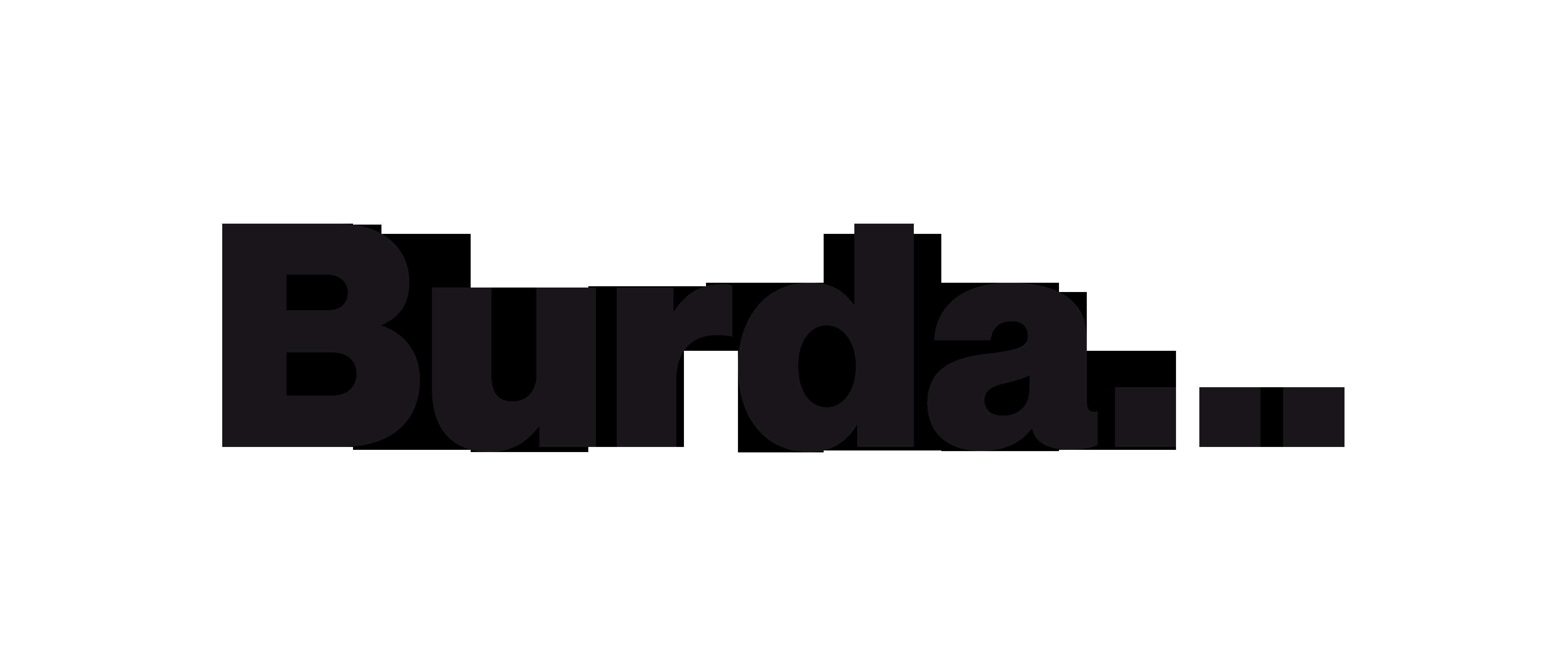 """Лого Burda: """"Hubert Burda Media"""""""